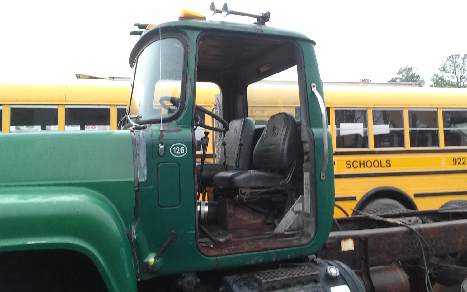 Mack Rd690s Cab Parts Tpi Truck Mirror Heaters Wiring Diagram 1989 Cabs Stock Salvage 468 Mcab 162 Part Year