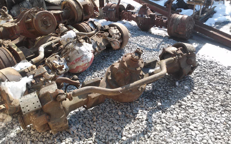 Meritor Front Axles : Meritor rockwell r stock fda front drive steer