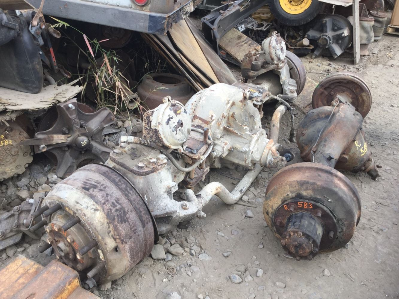 Meritor Steer Axle Parts Catalog : Meritor drive axle parts