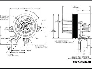 freightliner fan clutch diagram freightliner image fan clutch hub parts p25 tpi on freightliner fan clutch diagram