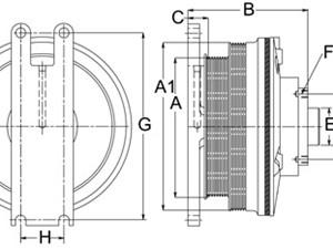 Caterpillar C12 Fan Clutch/Hub Parts   TPI