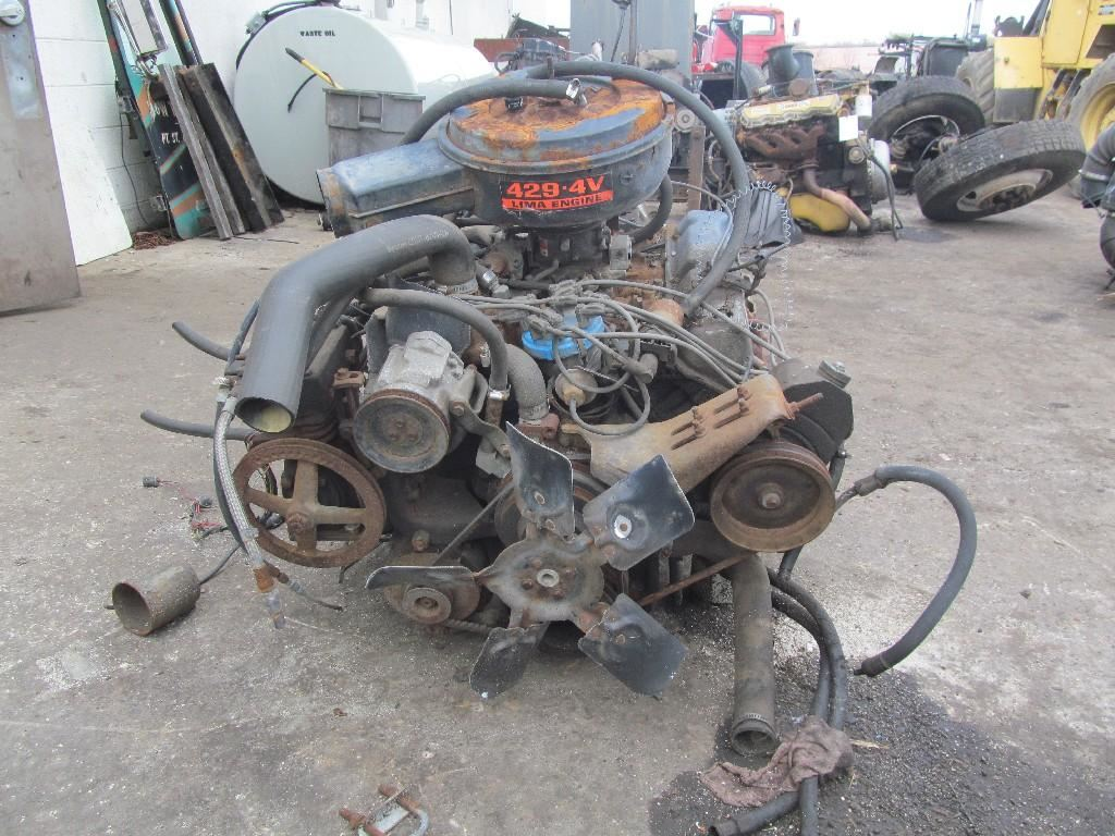 Ford 429v8 Propane Stock 58378 Engine Assys Tpi