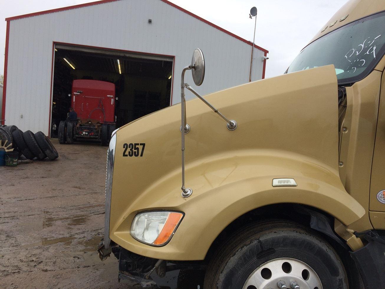 Semi Truck Hoods : Kenworth t stock kw  hoods tpi