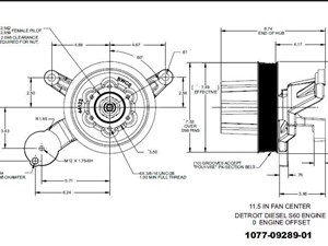 detroit other fan clutch hub parts tpi rh truckpartsinventory com Kysor Fan Clutch Catalog Kysor Fan Hub Rebuild Kits