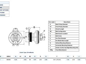 caterpillar fan clutch hub parts p10 tpi rh truckpartsinventory com 3126 Caterpillar Engine Specs 3126 Caterpillar Engine Thermostat Location