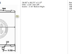 Peterbilt 386 Radiator Parts | TPI