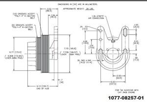kysor fan clutch hub parts tpi. Black Bedroom Furniture Sets. Home Design Ideas