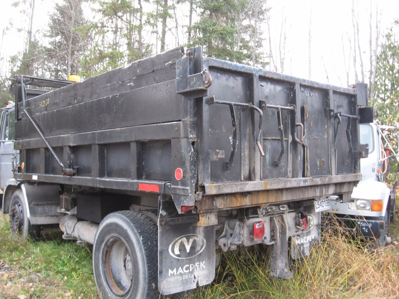 Dump Body Parts : Dump bodies stock b truck boxes tpi