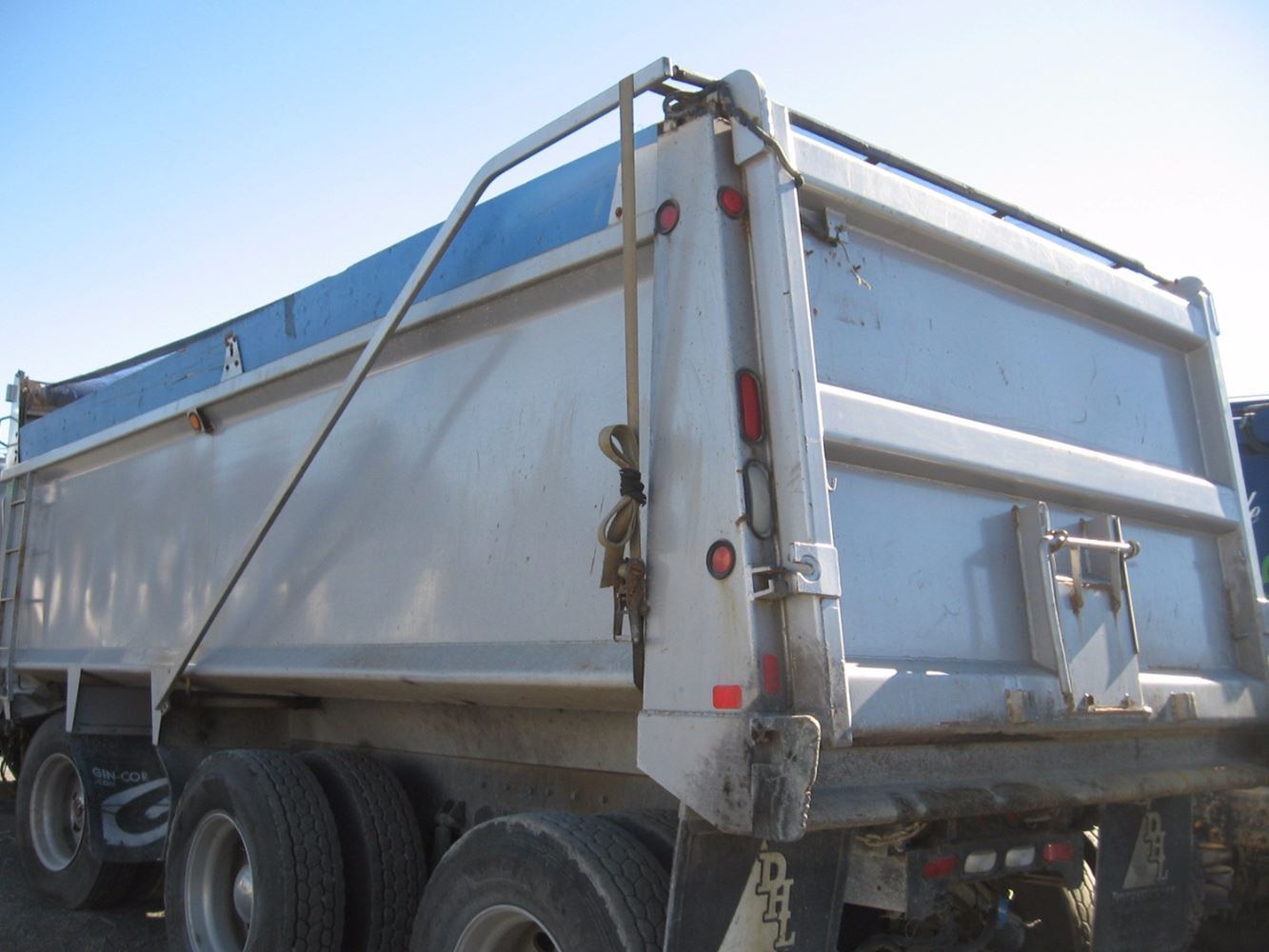 Dump Body Parts : Dump bodies other stock b truck boxes tpi