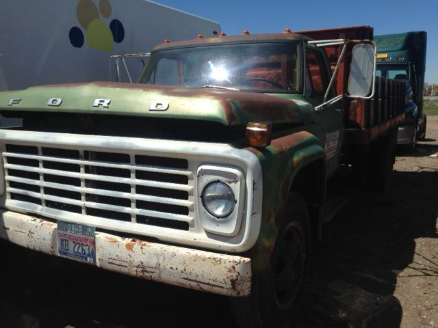 1975 Ford F600 Stock 51017 5 Grilles TPI