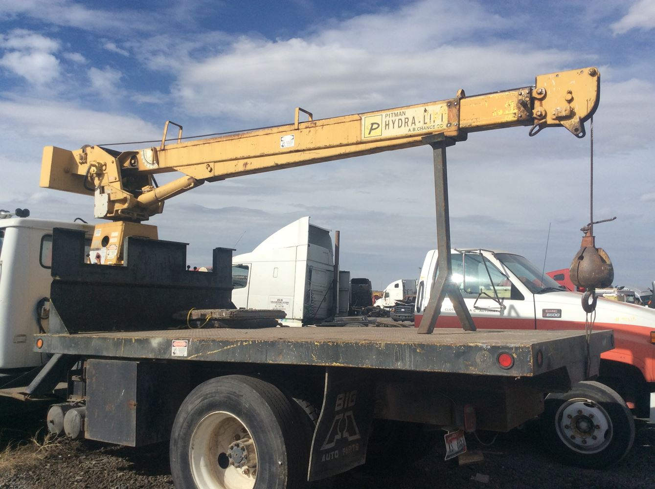 Booms/Pickers | Holst Truck Parts