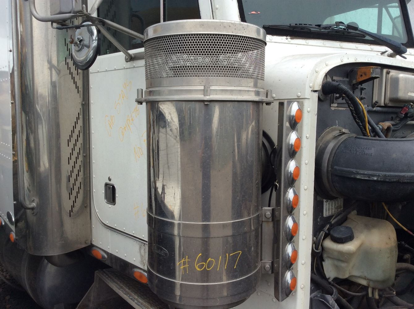 Semi Air Breather : Peterbilt stock air cleaners tpi