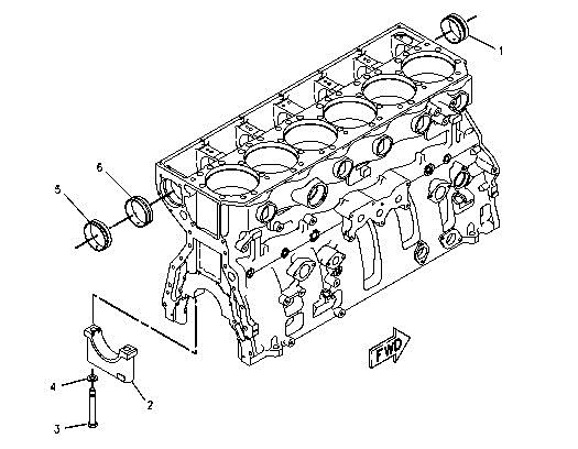 Caterpillar C12 Engine Parts Diagram