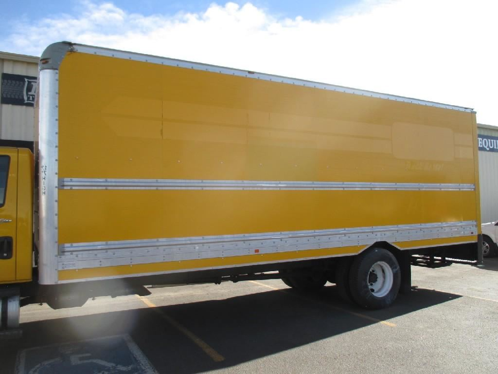 Supreme 26 Dry Van Body Stock B3033 Truck Boxes