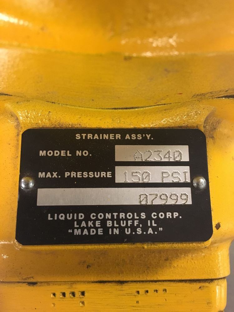 Liquid Controls Stock P 228412 Parts By Number Tpi