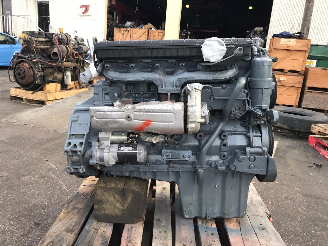 2003 mercedes om906la stock 003267 engine assys tpi for Mercedes benz diesel truck engines