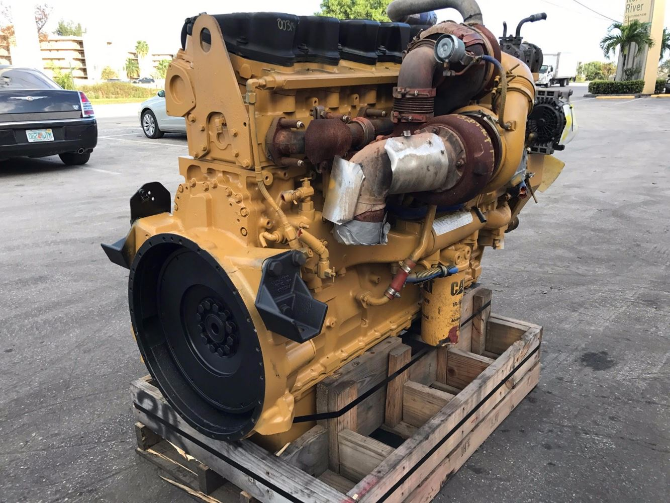 Caterpillar C15 Stock 003141 Engine Assys Tpi
