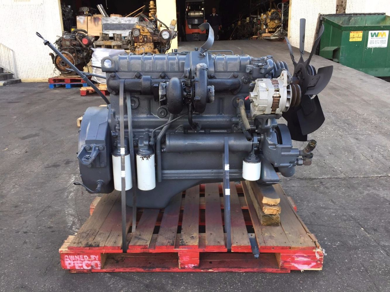 International Dt360 Stock 003106 Engine Assys Tpi