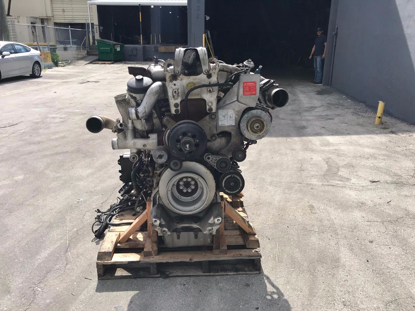 Mercedes OM460LA (Stock #003537) | Engine Assys | TPI