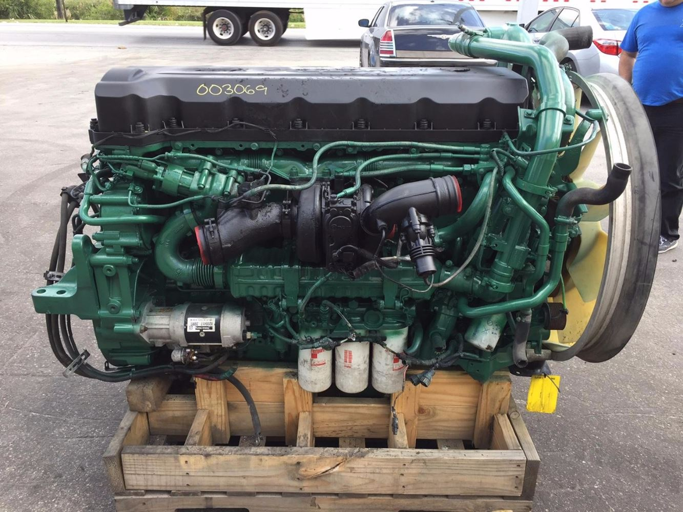 Volvo d13 stock 003069 engine assys tpi for Volvo motors for sale