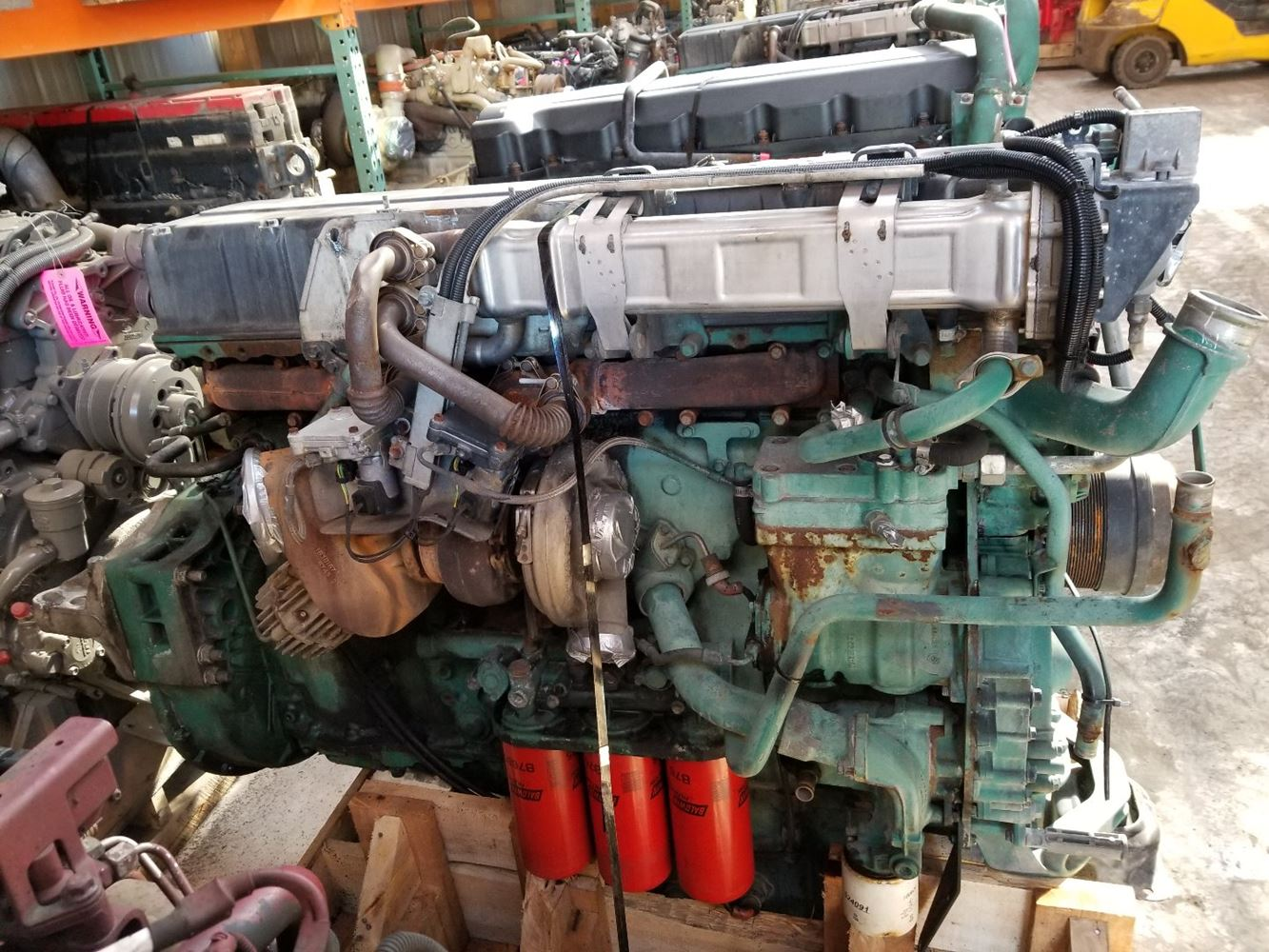 Volvo D12 Truck Engines Diagram Wiring Diagrams D13 Engine 2005 Stock P 1237 Assys Tpi Brake