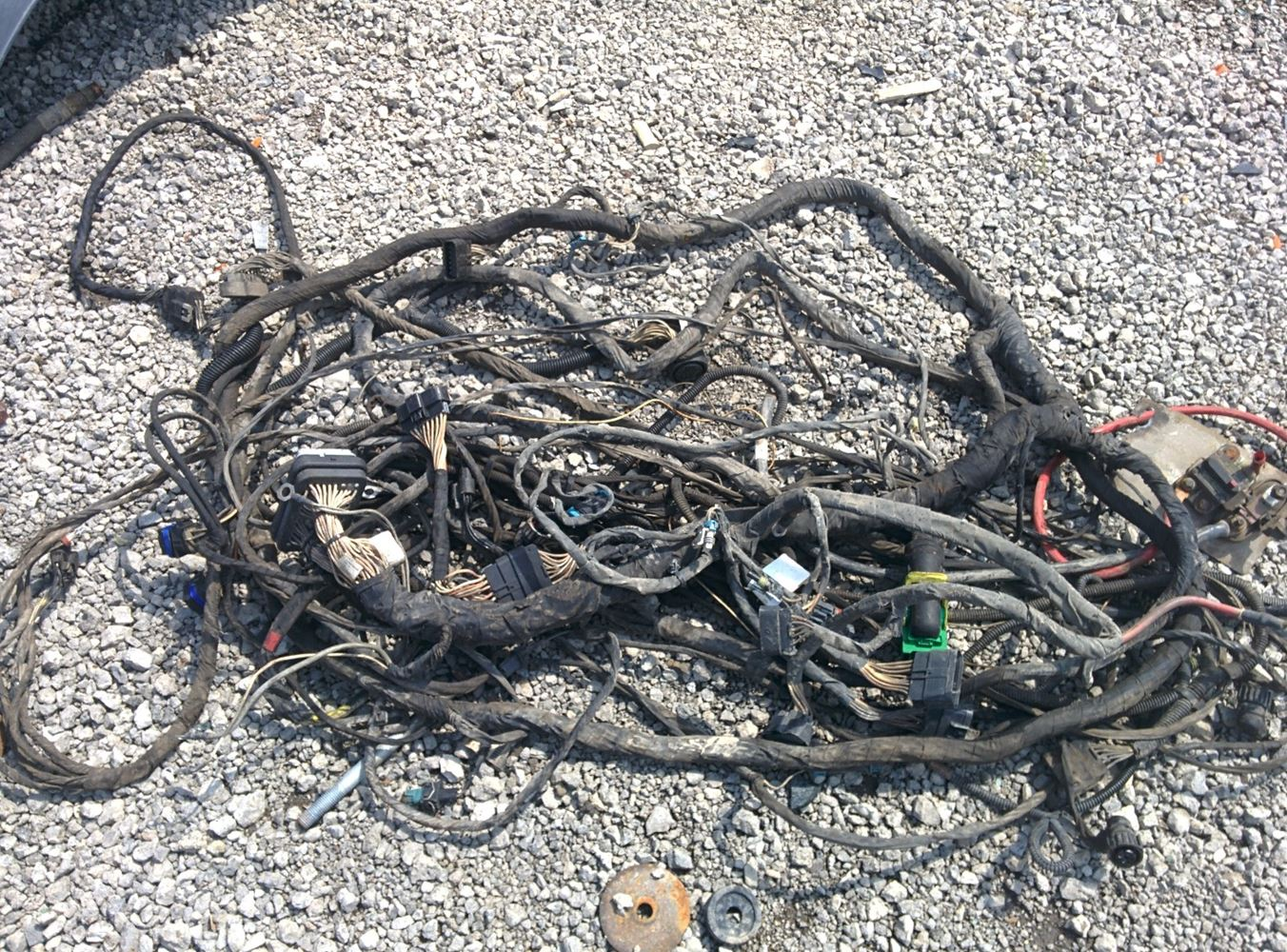 Mack Engine Wiring Harness Diagrams 2008 Cxu613 Stock Mk 0423 47 Harnesses 92 Truck Ch613 Compartment