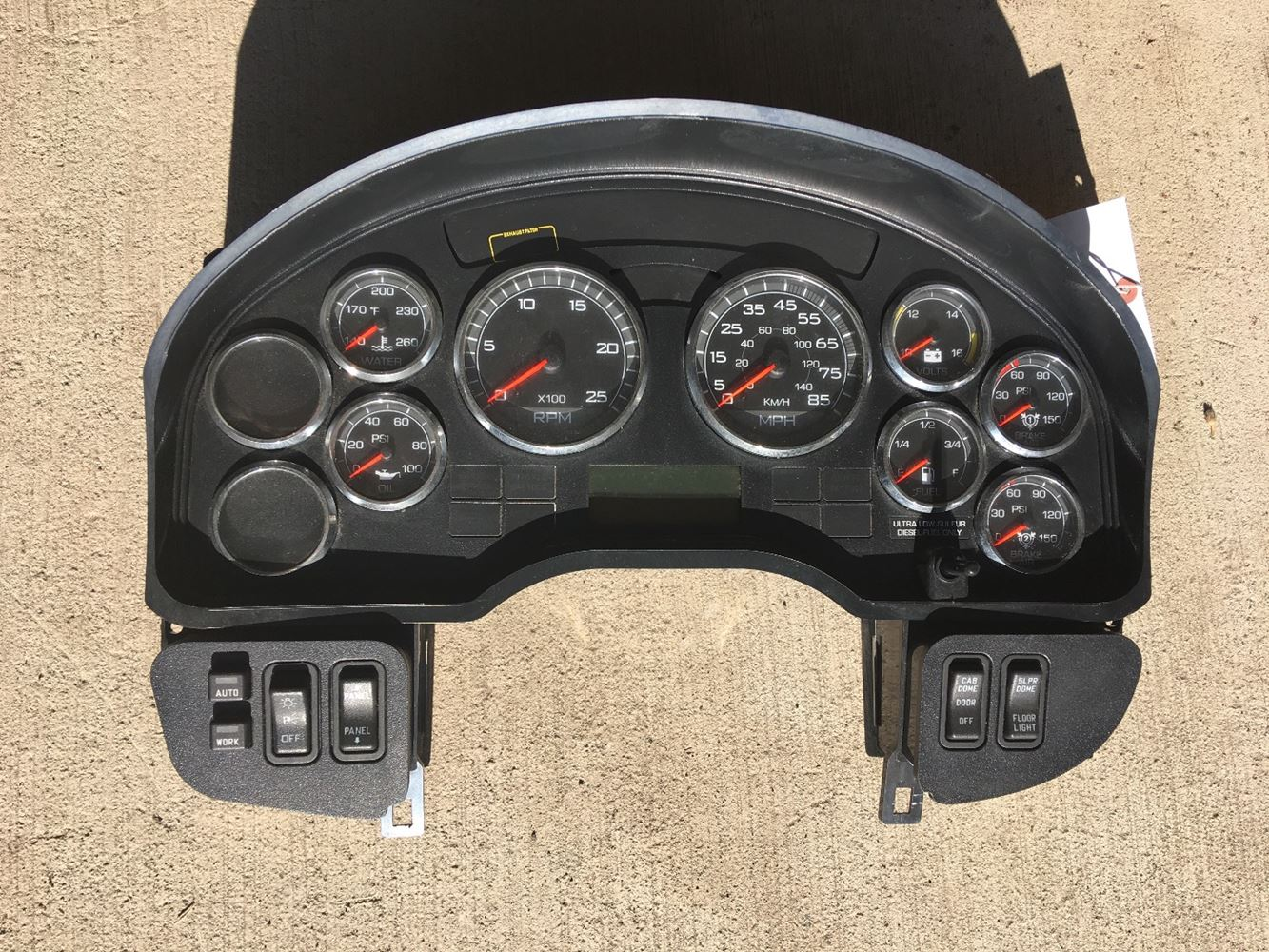 International Trucks For Sale >> 2012 International PROSTAR (Stock #8002)   Instrument Cluster   TPI