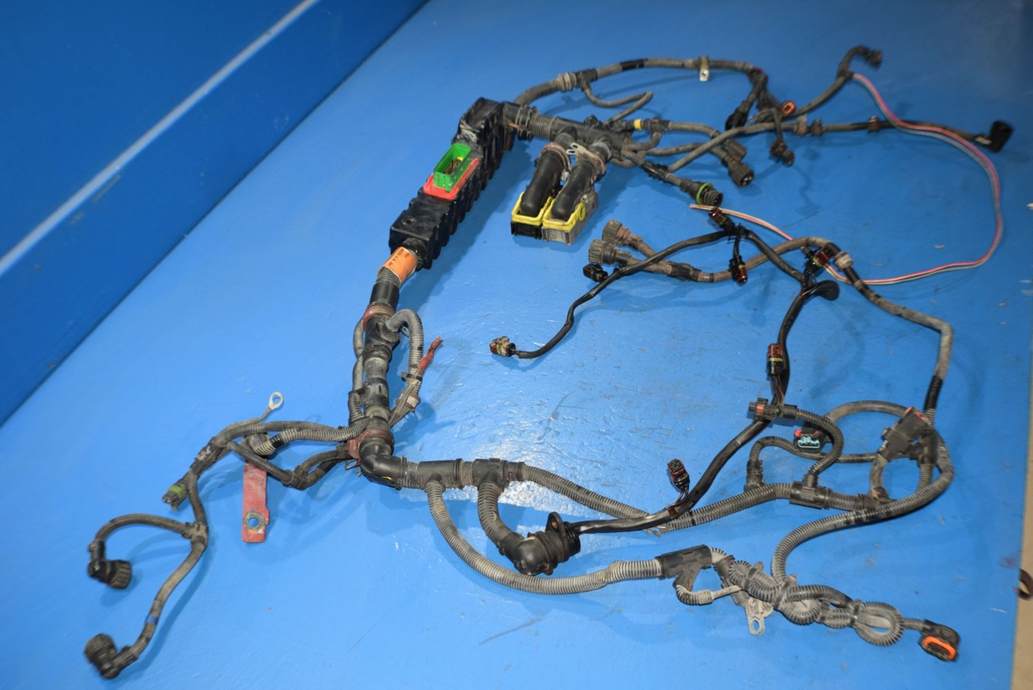 Mack Mp8 Stock 3143 Wiring Harnesses Tpi Harness Frame 15 November 2016 Image Subject To Change