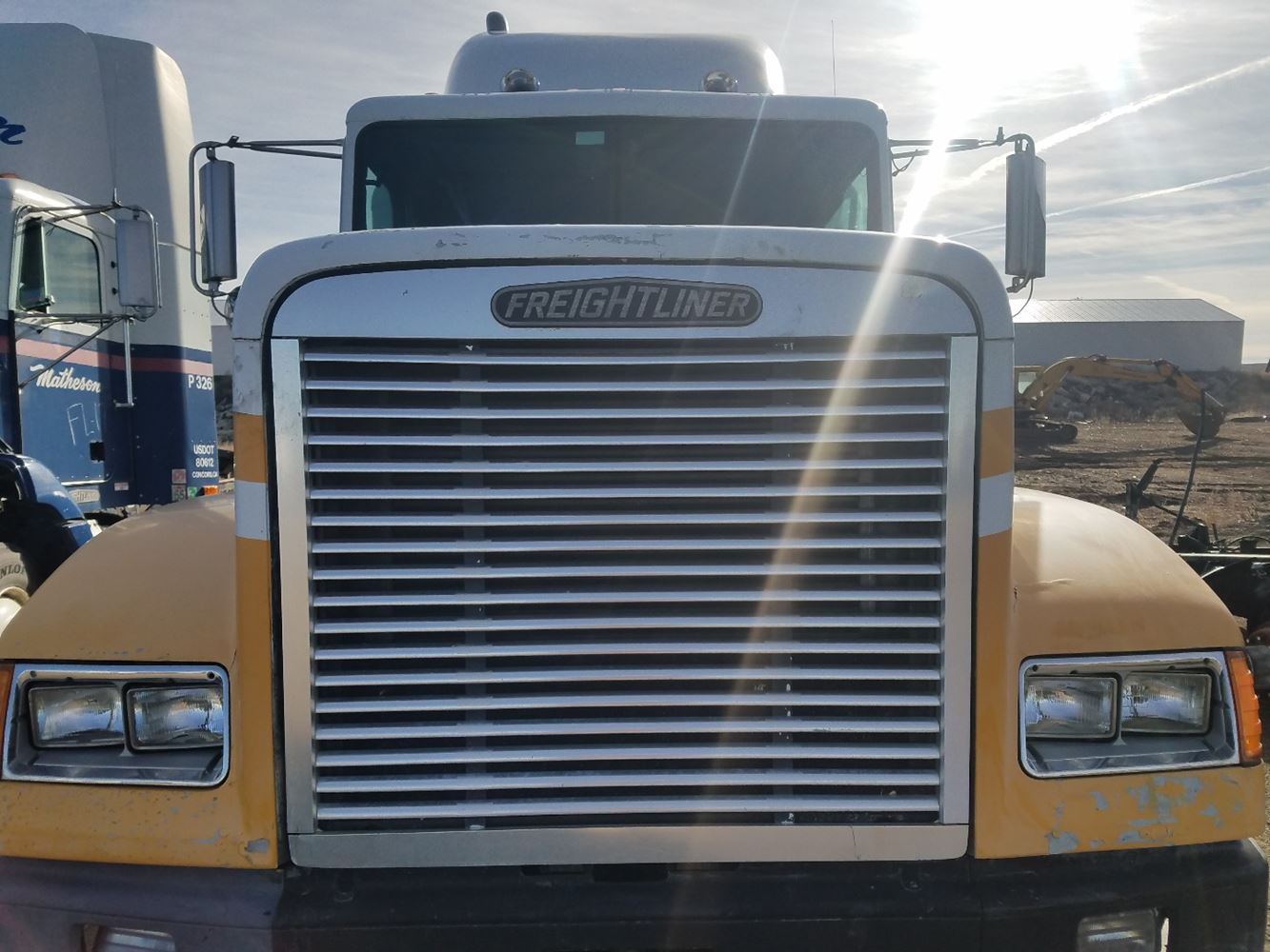 Freightliner Fld120 Hood : Freightliner fld hood go carz