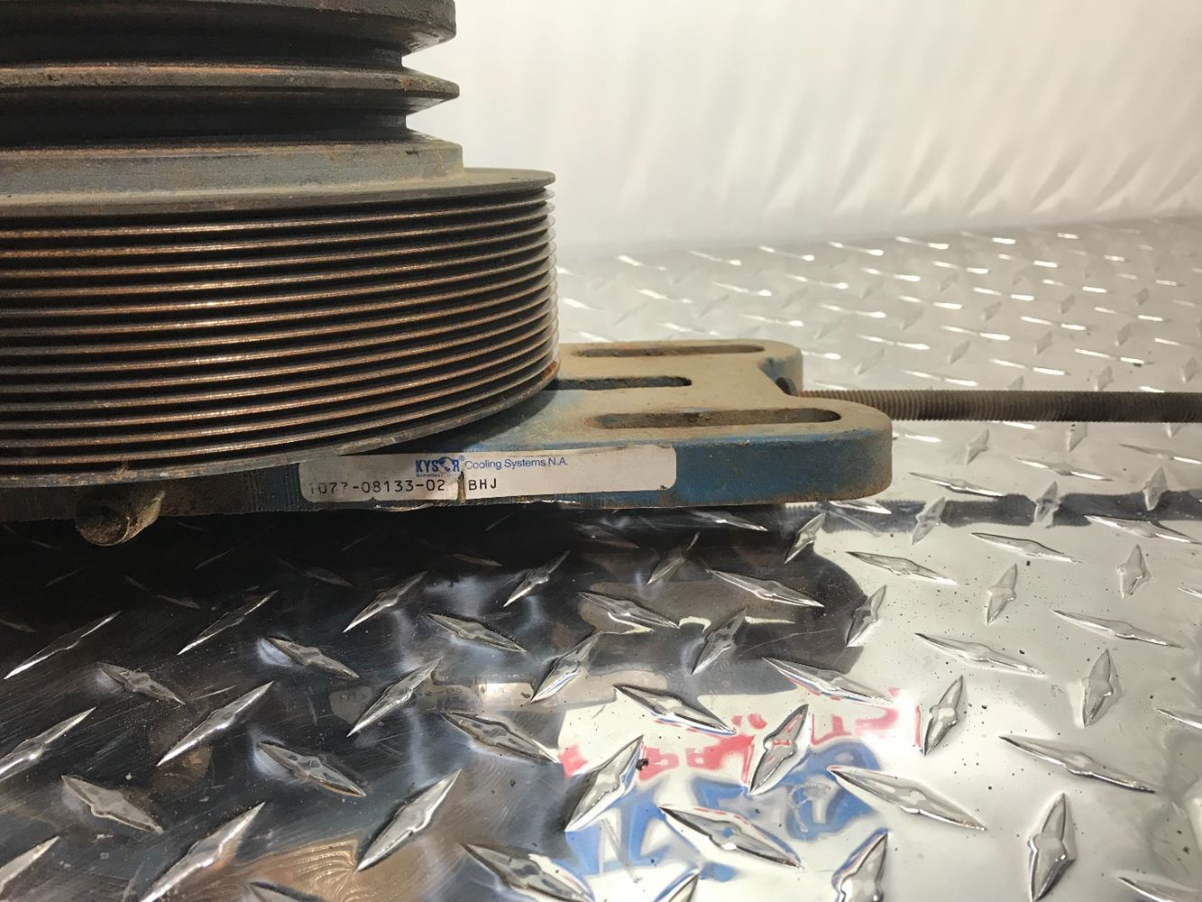 Caterpillar C12 Fan Clutch Engine Cooling Diagram Stock Hubs Tpi 1333x1000