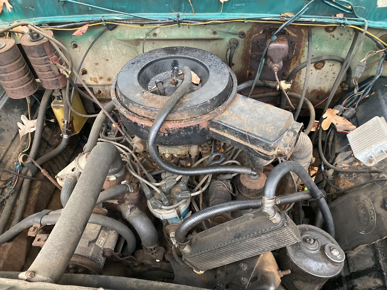1979 FORD 370 ENGINE ASSEMBLY TRUCK PARTS #690530