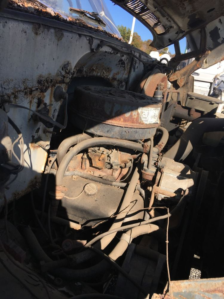 1983 GM/CHEV (HD) 6.0L ENGINE ASSEMBLY TRUCK PARTS #680230