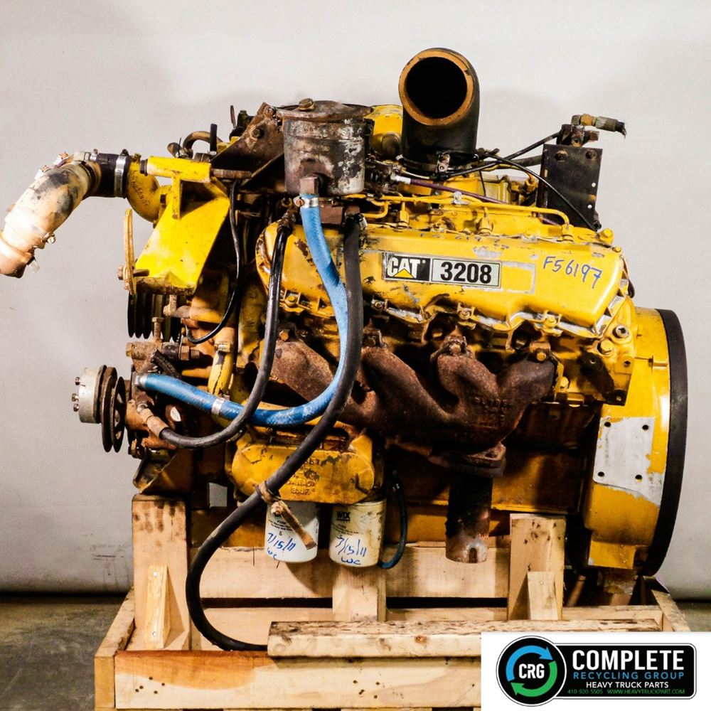 1984 CATERPILLAR 3208 ENGINE ASSEMBLY TRUCK PARTS #699378