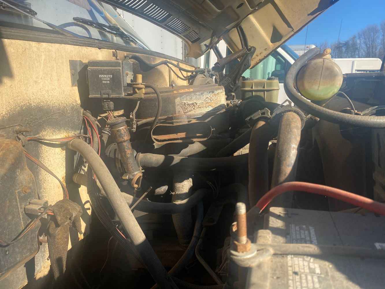 1985 GM/CHEV (HD) 5.7L ENGINE ASSEMBLY TRUCK PARTS #680392