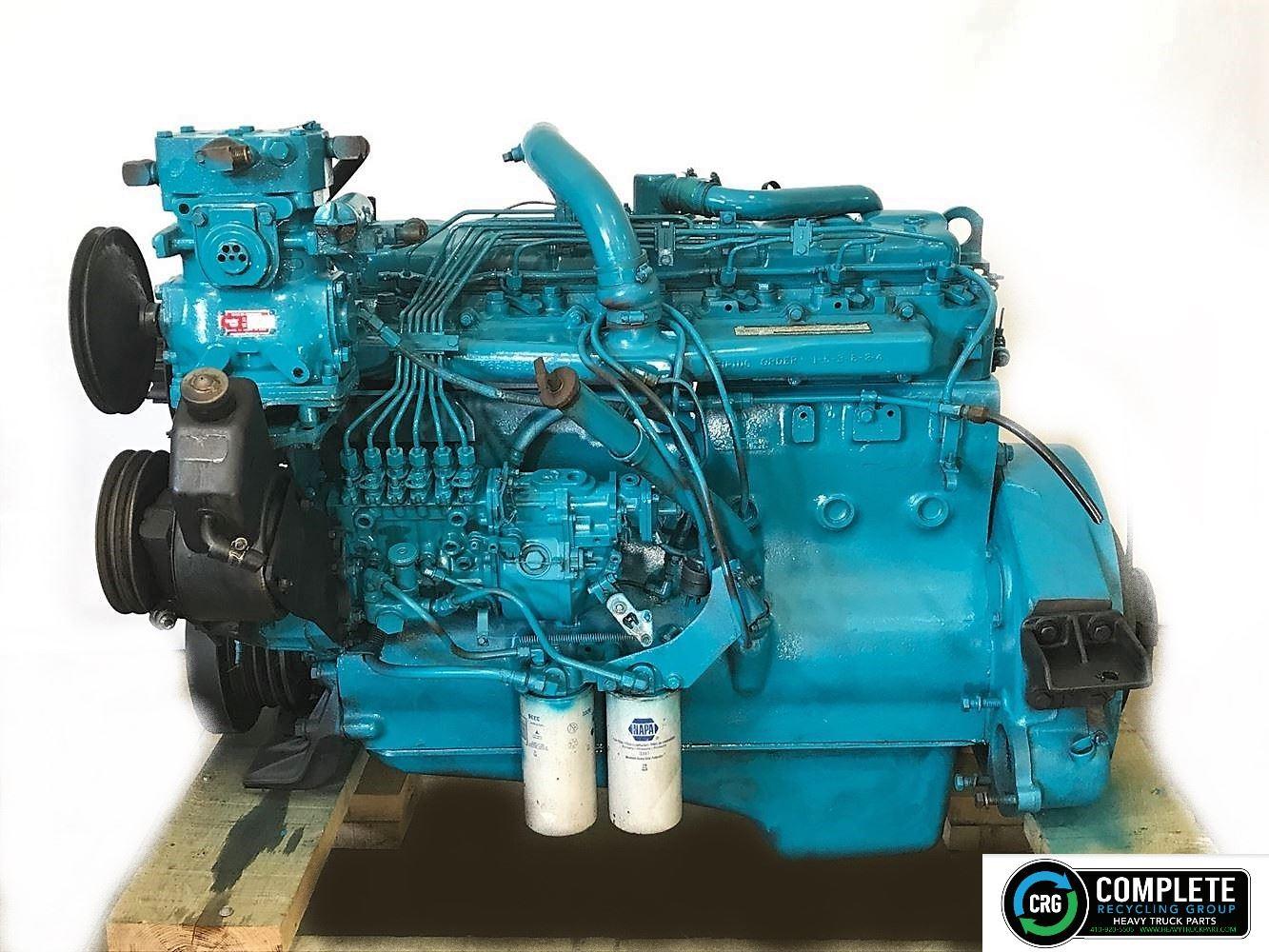 1985 INTERNATIONAL DT466C ENGINE ASSEMBLY TRUCK PARTS #697606