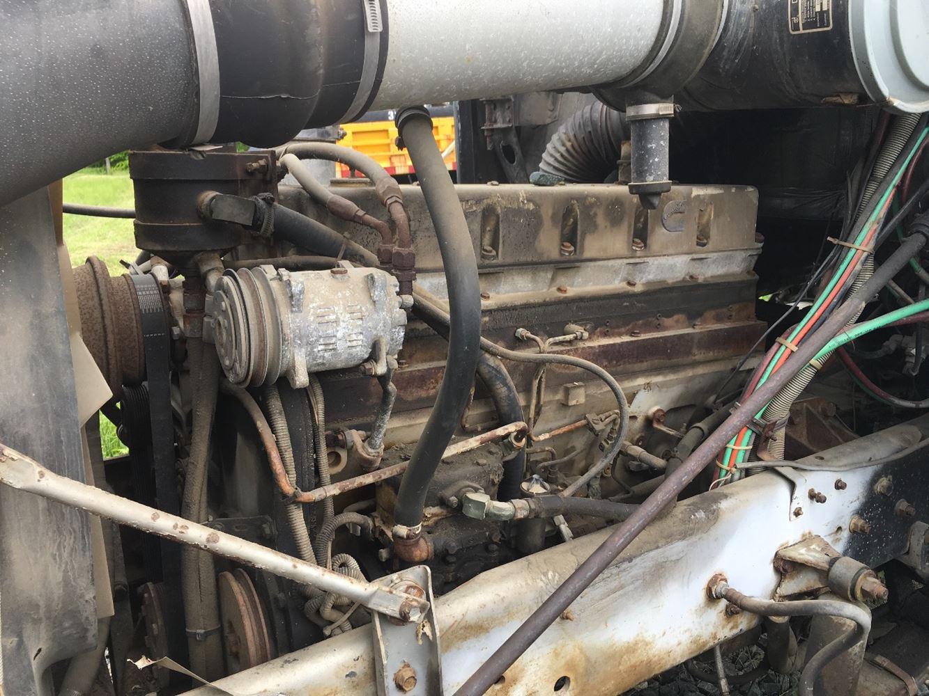 1986 CUMMINS LTA ENGINE ASSEMBLY TRUCK PARTS #679962