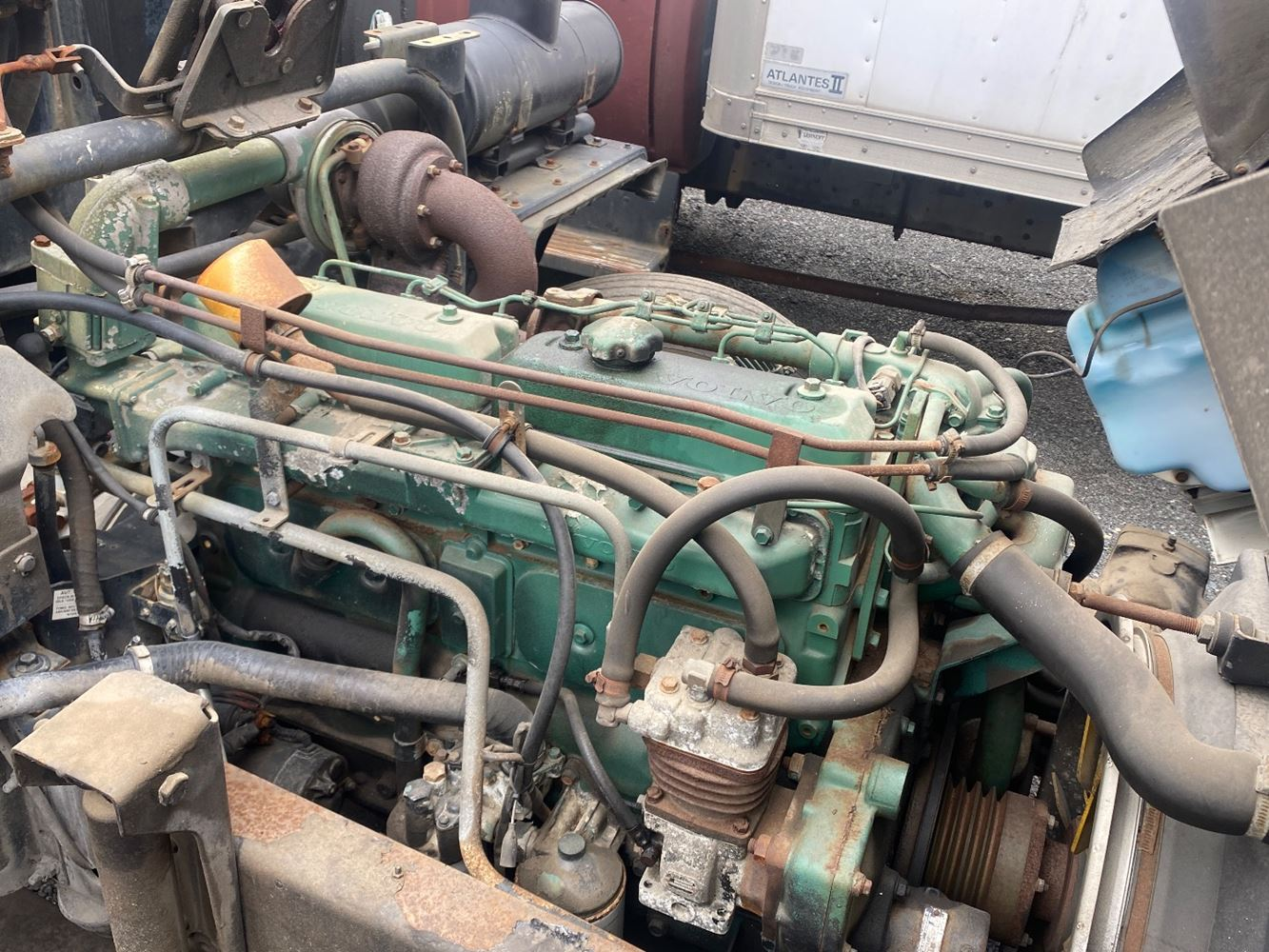 1987 VOLVO TD61GE ENGINE ASSEMBLY TRUCK PARTS #721488