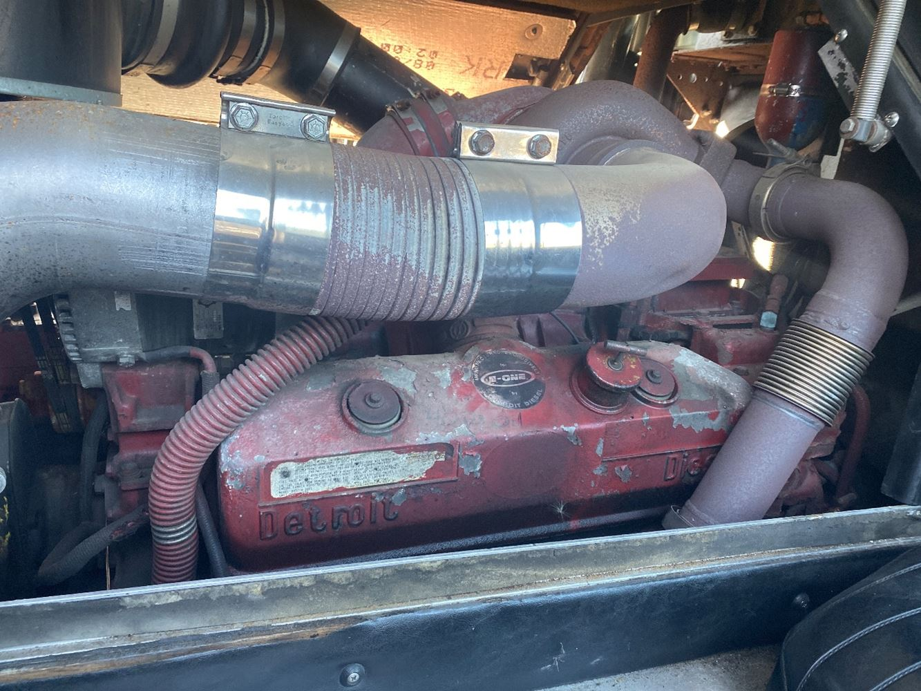 1991 DETROIT 8V92TA ENGINE ASSEMBLY TRUCK PARTS #679945