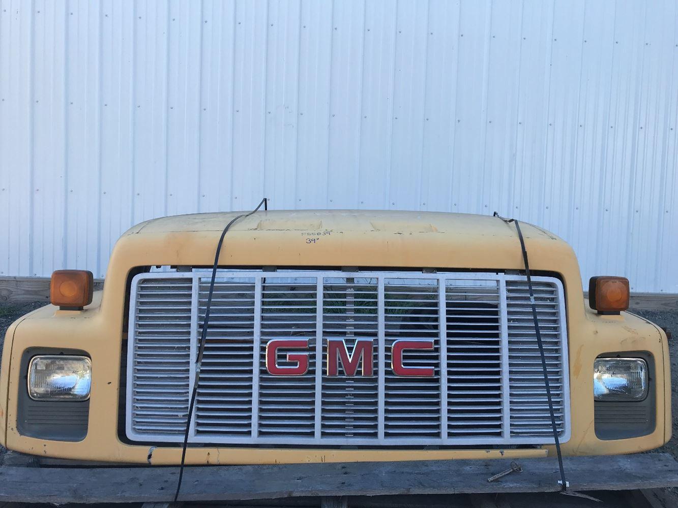 1992 GMC C6000 TOPKICK HOOD TRUCK PARTS #686686