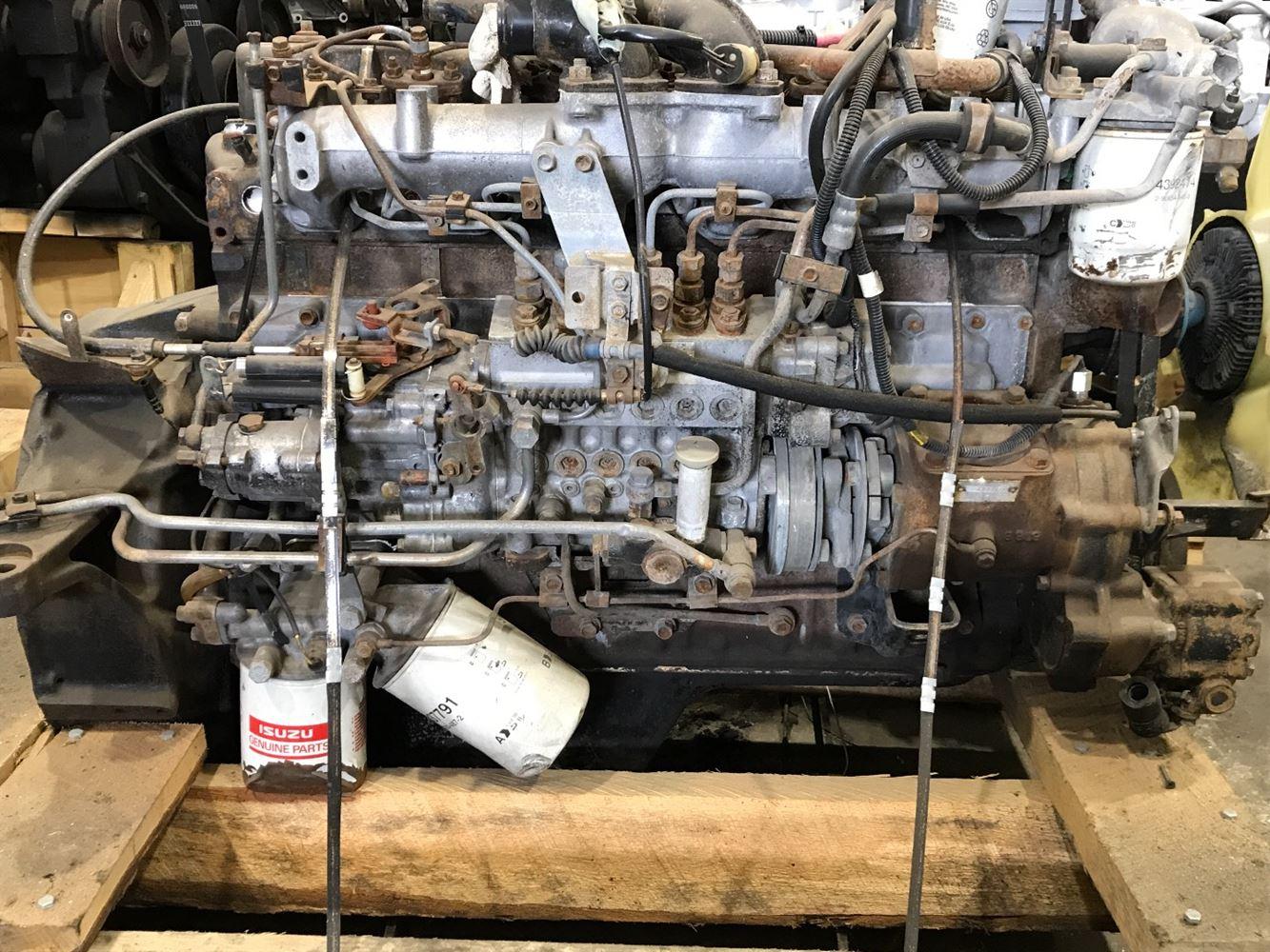 1993 ISUZU OTHER ENGINE ASSEMBLY TRUCK PARTS #680127