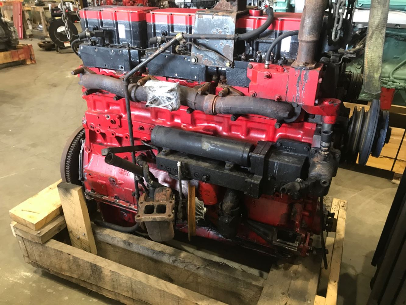 1995 CUMMINS N14 ENGINE ASSEMBLY TRUCK PARTS #687153