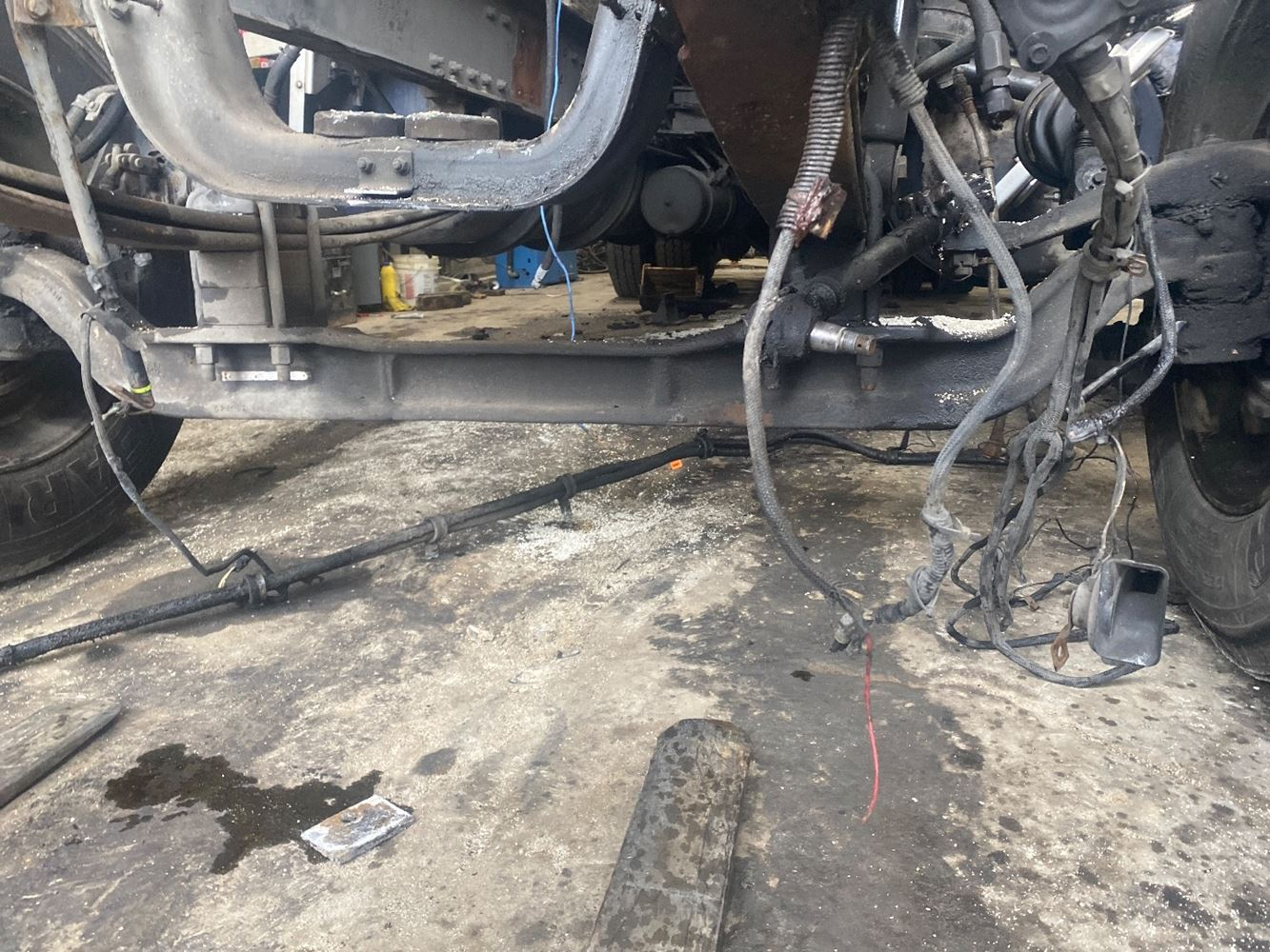 1997 WESTERN STAR 4900E FRONT AXLE TRUCK PARTS #700346