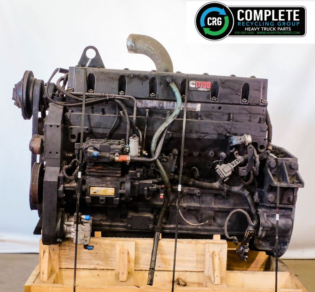 1999 CUMMINS M11; ISM ENGINE ASSEMBLY TRUCK PARTS #679912