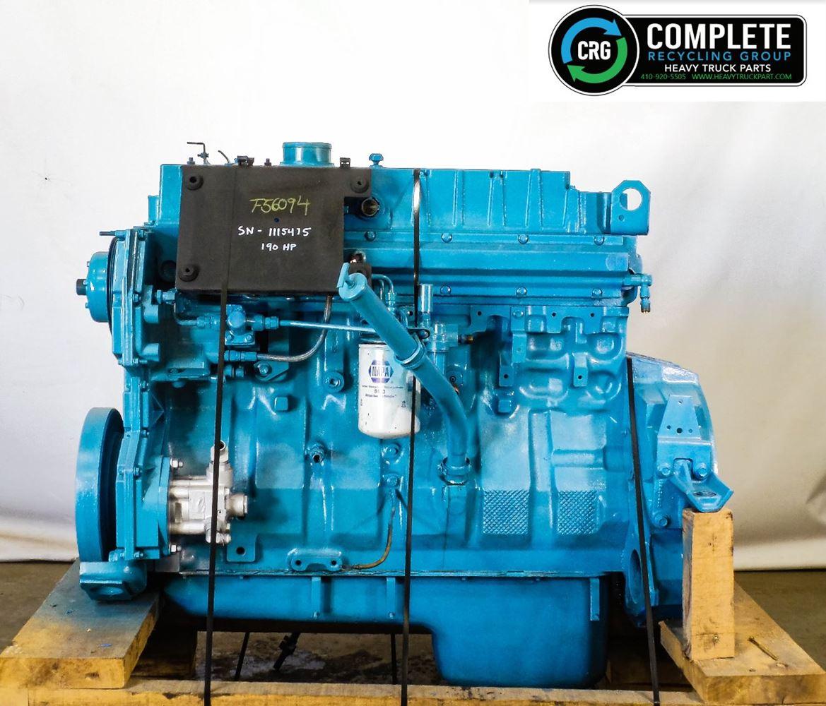 1999 INTERNATIONAL DT466 ENGINE ASSEMBLY TRUCK PARTS #680052