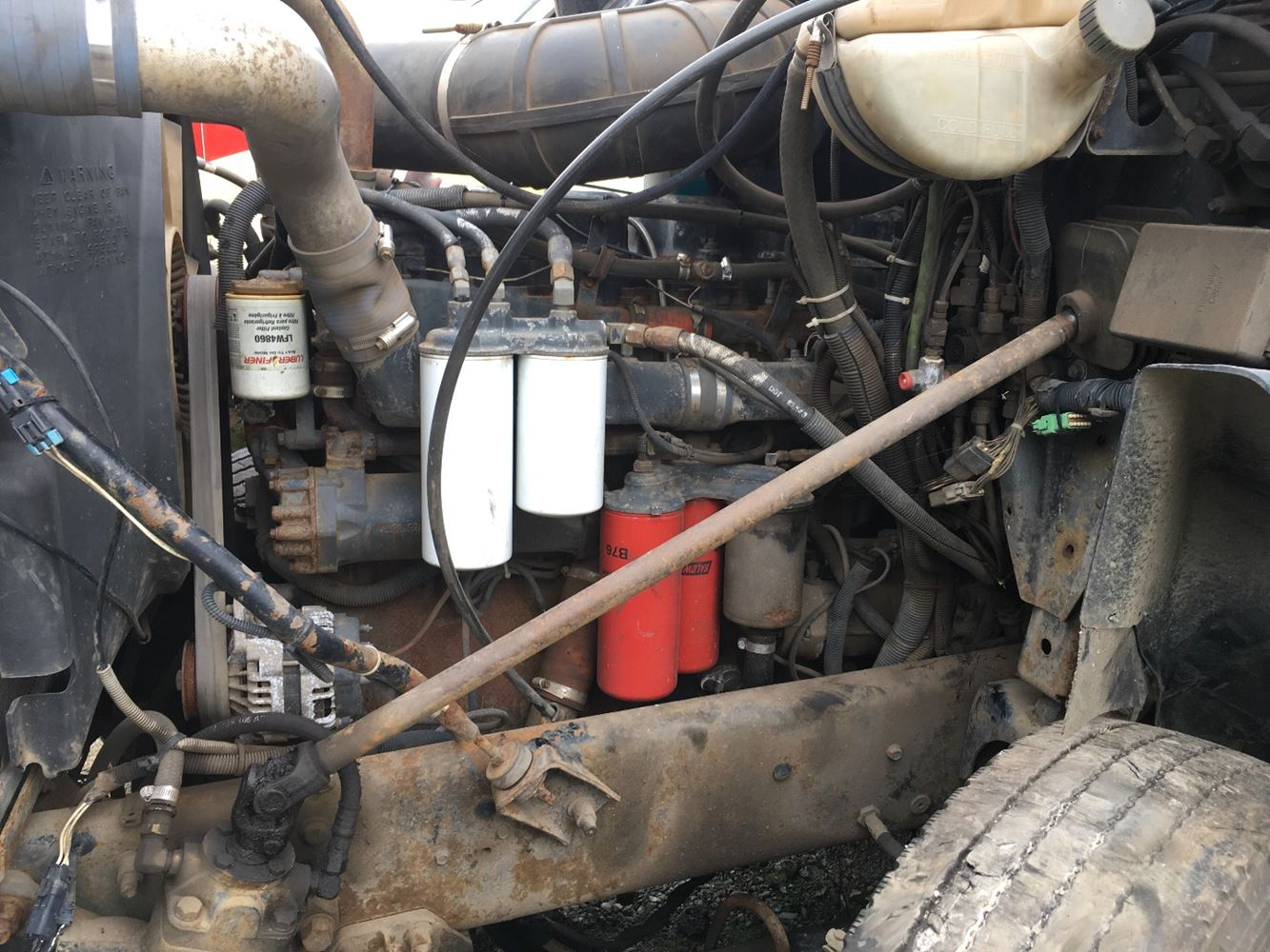 1999 MACK E7 ENGINE ASSEMBLY TRUCK PARTS #679838