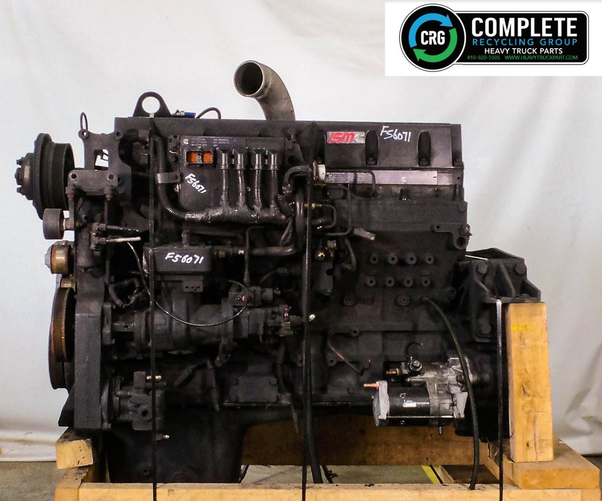 2000 CUMMINS ISM ENGINE ASSEMBLY TRUCK PARTS #679895
