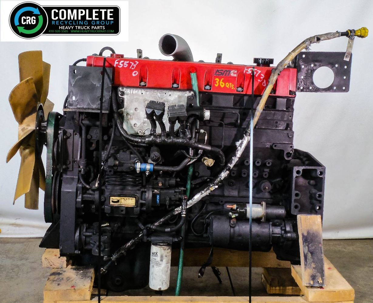 2001 CUMMINS ISM ENGINE ASSEMBLY TRUCK PARTS #679830