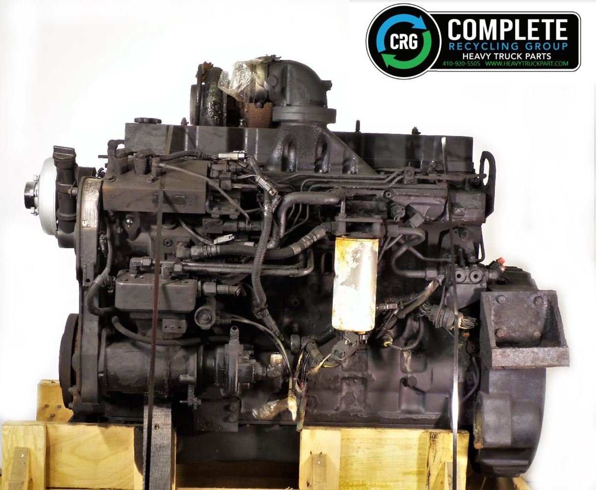 2002 CUMMINS ISC ENGINE ASSEMBLY TRUCK PARTS #679865