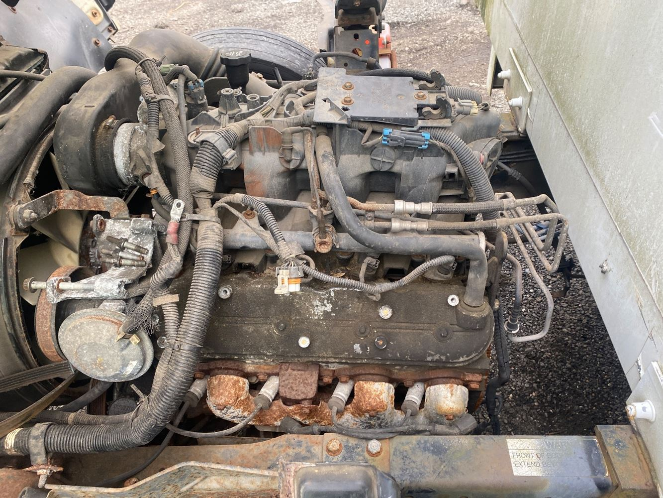 2003 GM/CHEV (HD) 6.0L ENGINE ASSEMBLY TRUCK PARTS #699069