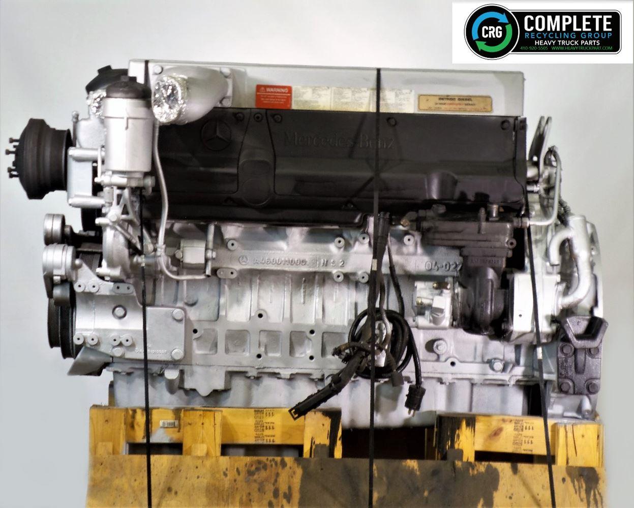 2004 MERCEDES OM 460 LA ENGINE ASSEMBLY TRUCK PARTS #679824